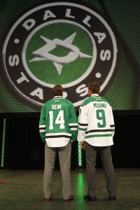 Jamie Benn and Mike Modano 2